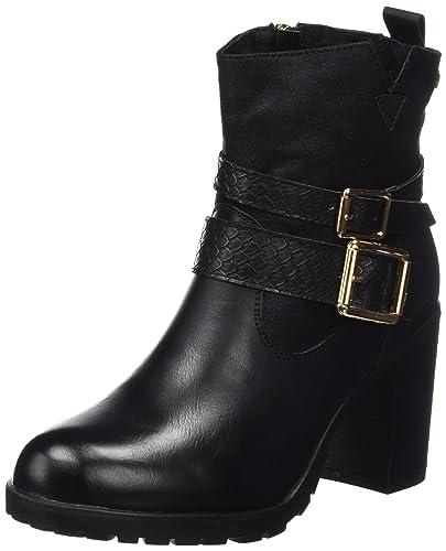XTI - Zapatillas de Piel para mujer negro negro, color negro, talla 37 EU