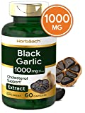 Aged Black Garlic 1000 mg | 60 Capsules | Fermented Extract | Non-GMO, Gluten Free | by Horbaach