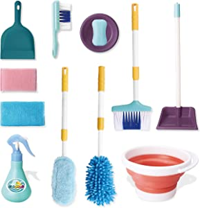 JOYIN Pretend Play Kids Toddler Housekeeping Cleaning Toy Set for Kids and Toddler