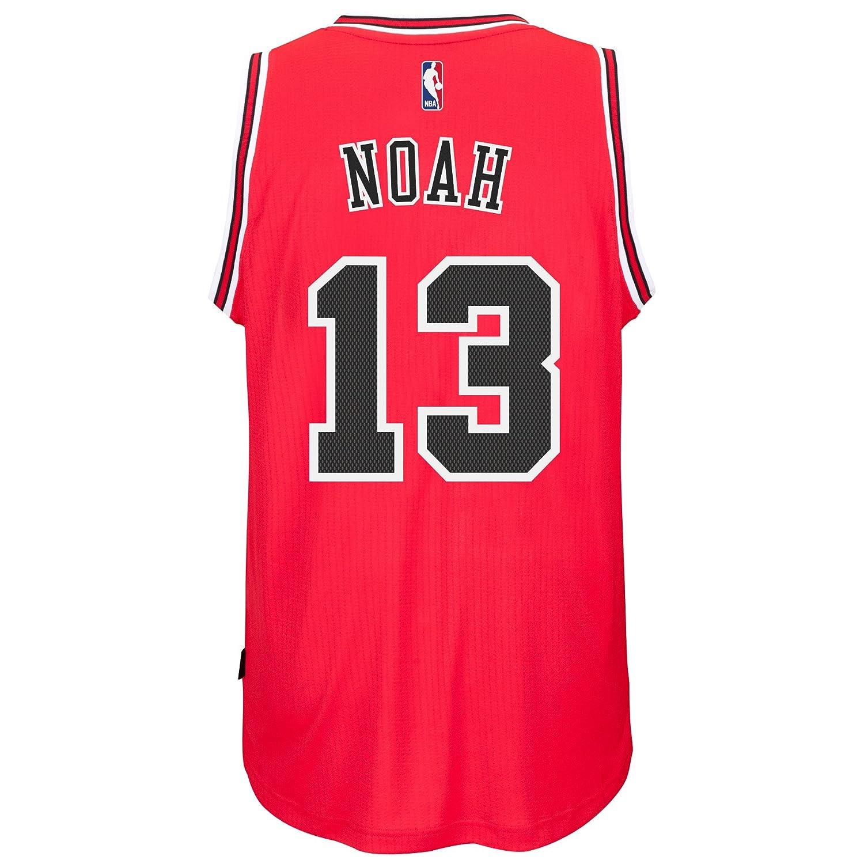 5b60070f05e Amazon.com : Chicago Bulls Joakim Noah #13 Red Swingman Official 2014-15  Adidas Road Jersey (XX-Large) : Sports & Outdoors