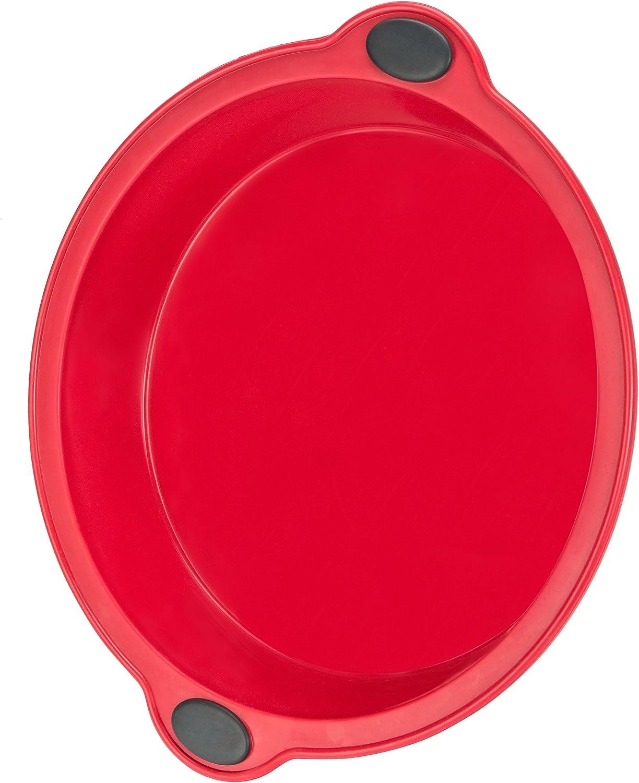 Rouge Moule /à G/âteau//P/âtisserie en Silicone antiadh/ésif en forme de Bo/îte 135 x 76 x 310mm Levivo