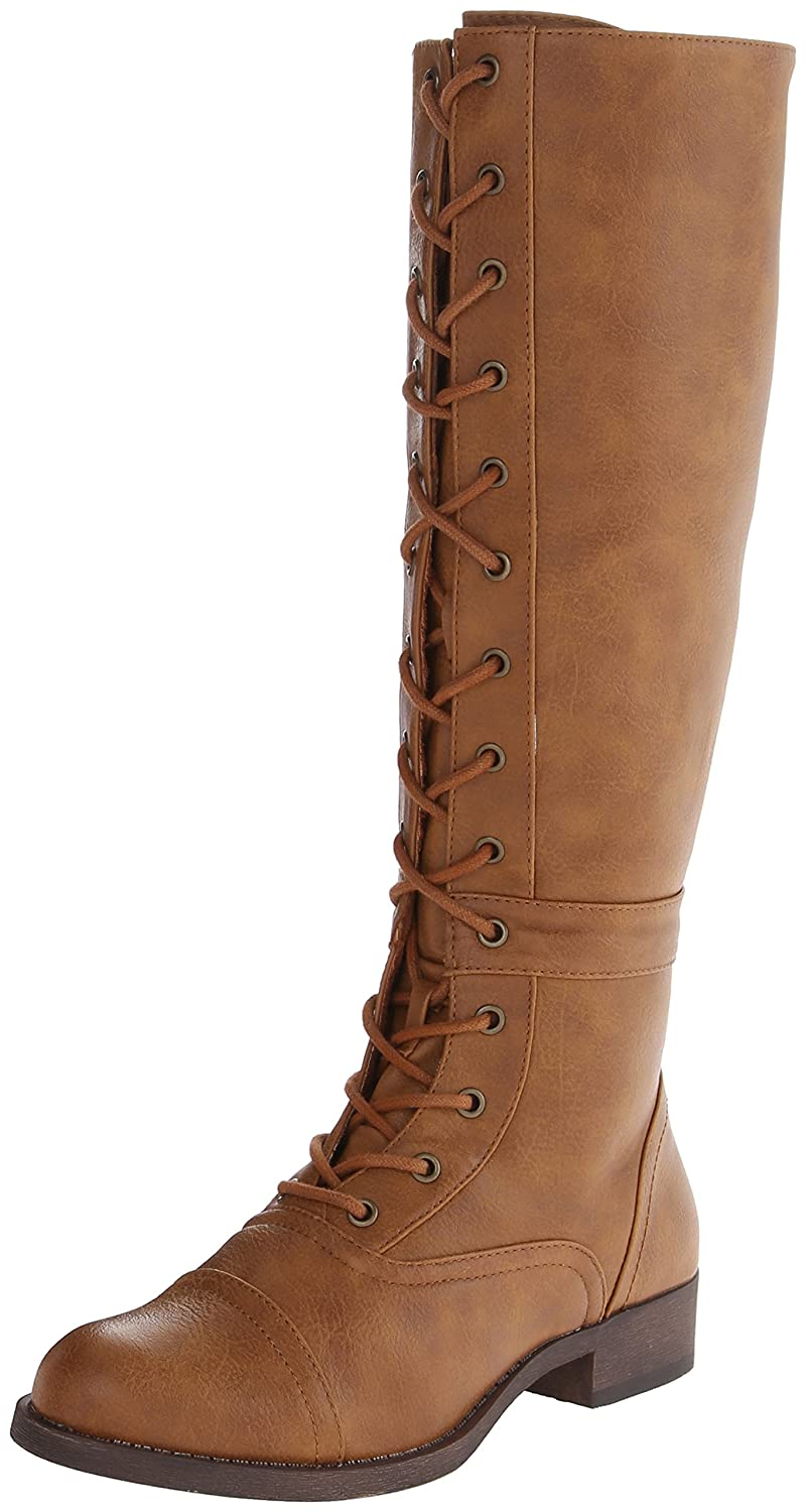 1920s Style Shoes Rocket Dog Womens Calypso Stag Riding Boot $63.90 AT vintagedancer.com