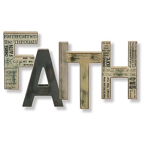 Amazon.com: F Un I T h-free Standing letras (5 cartas) (8 ...
