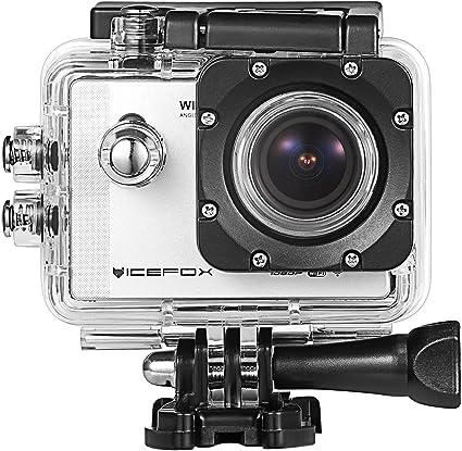 Sport Kamera Icefox Tm Wifi Wasserdichte Outdoor Full Hd Dvr Dv Action Kamera Motorrad Camcorder 1 5 Zoll Lcd 12mp 1080p H 264 30m Unterwasser Silber Sport Freizeit