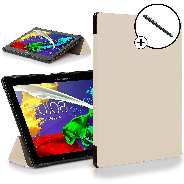Forefront Cases® Lenovo Tab 2 A10-30 Funda Carcasa Stand Case Cover Protectora Plegable – Ultra Delgado Ligera y Protección Completa del Dispositivo + ...
