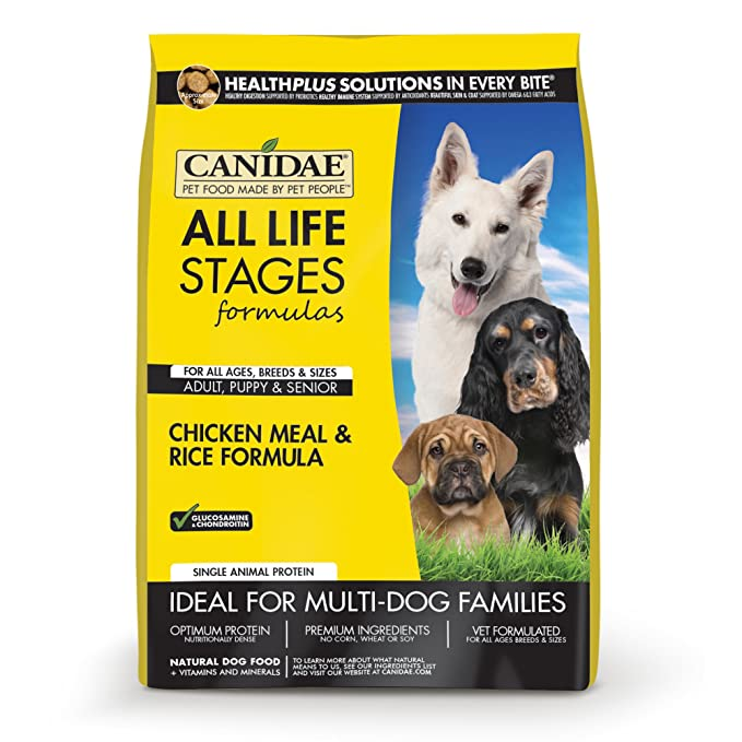 Amazon Com Canidae All Life Stages Dog Dry Food Chicken Meal Rice