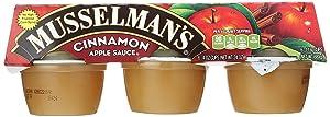 Musselman's Cinnamon Apple Sauce, 6 - 4 Ounce Cups