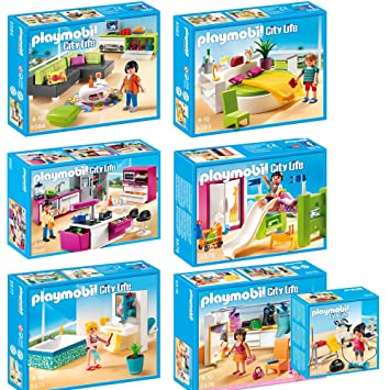 PLAYMOBIL Dressing Bathroom Training Childrens dp BOSK