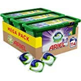 Ariel 3-in-1 Pods Colour and Style Washing Capsules - Pack of 3 (114 Washes)