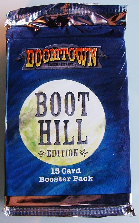 Deadlands Doomtown CCG Episode 1/&2 Saddlebag 15 card booster pack New Sealed