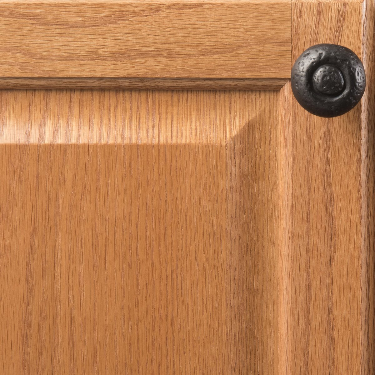 Hickory Hardware P3003-BI-25B Refined Rustic Collection Knob, 1-1/2 Inch Diameter, Black Iron, 25 Each by Hickory Hardware (Image #5)