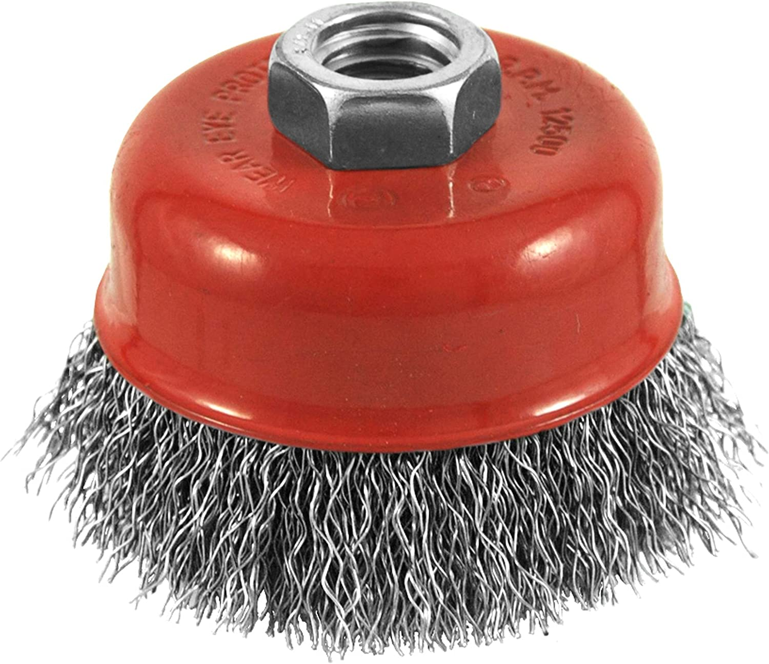 EAB Tool 2160438 3-Inch Diameter Crimped Wire Cup Brush Exchange A Blade