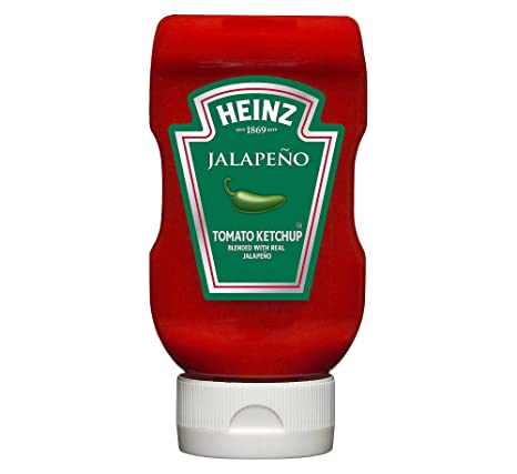 amazon heinz jalapeno tomato ketchup 390ml ハラペーニョハインツ