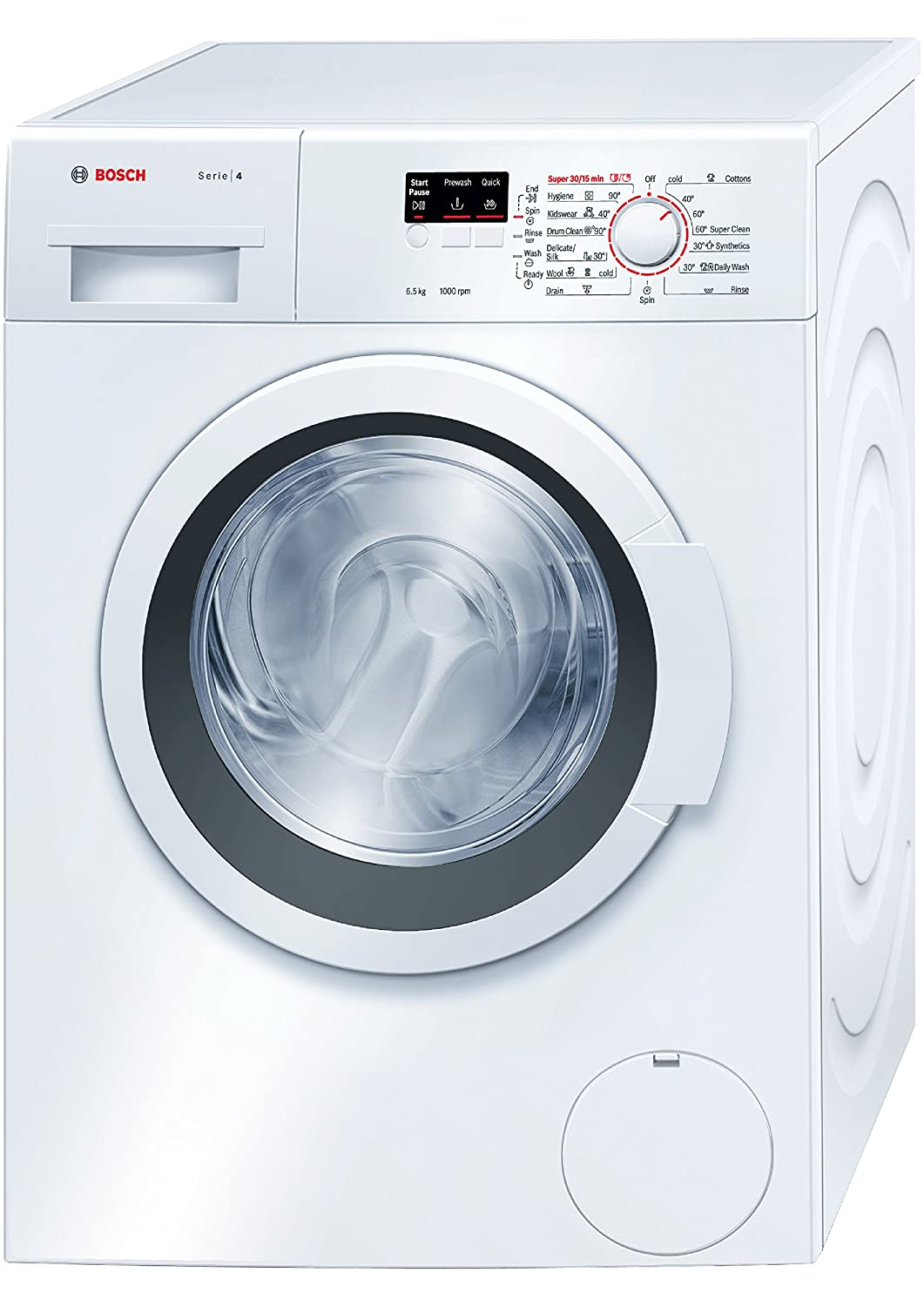 Bosch Wak20065in Fully Automatic Front Loading Washing Machine 6 5 Kg White Amazon In Home Kitchen