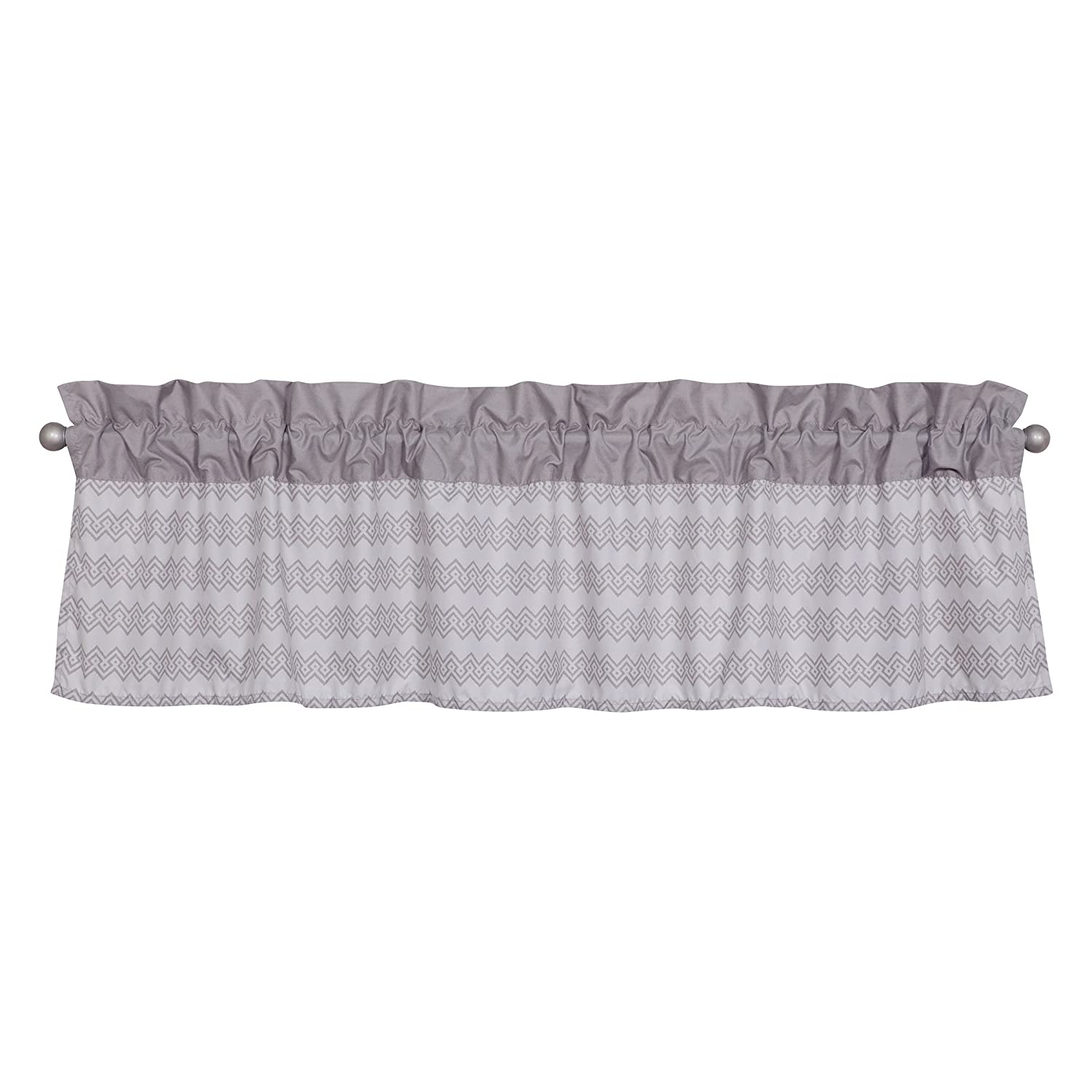 Waverly Congo Line by Trend Lab Window Valance, Covering, Gray