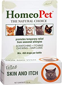 HomeoPet Feline Skin and Itch