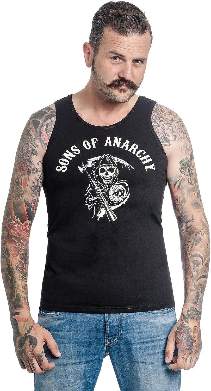 Zonen van Anarchy Reaper Tanktop Zwart