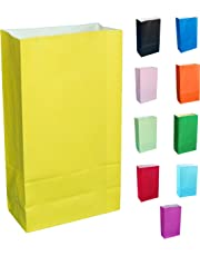 Thepaperbagstore (TM PAPER PARTY BAGS - CHOOSE YOUR COLOUR AND QUANTITY
