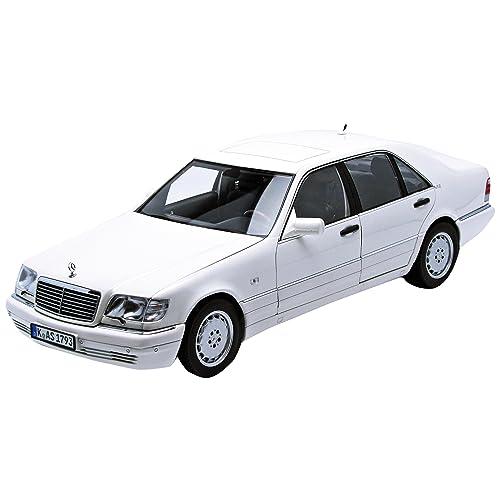 Norev 183562 - Véhicule Miniature - Modèle À L'échelle - Mercedes-Benz S600 - 1997 - Echelle 1/18