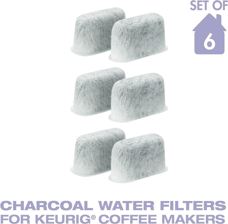 GENUINE Keurig Coffee Charcoal Water Filter Cartridge Replacement UNIVERSAL 6