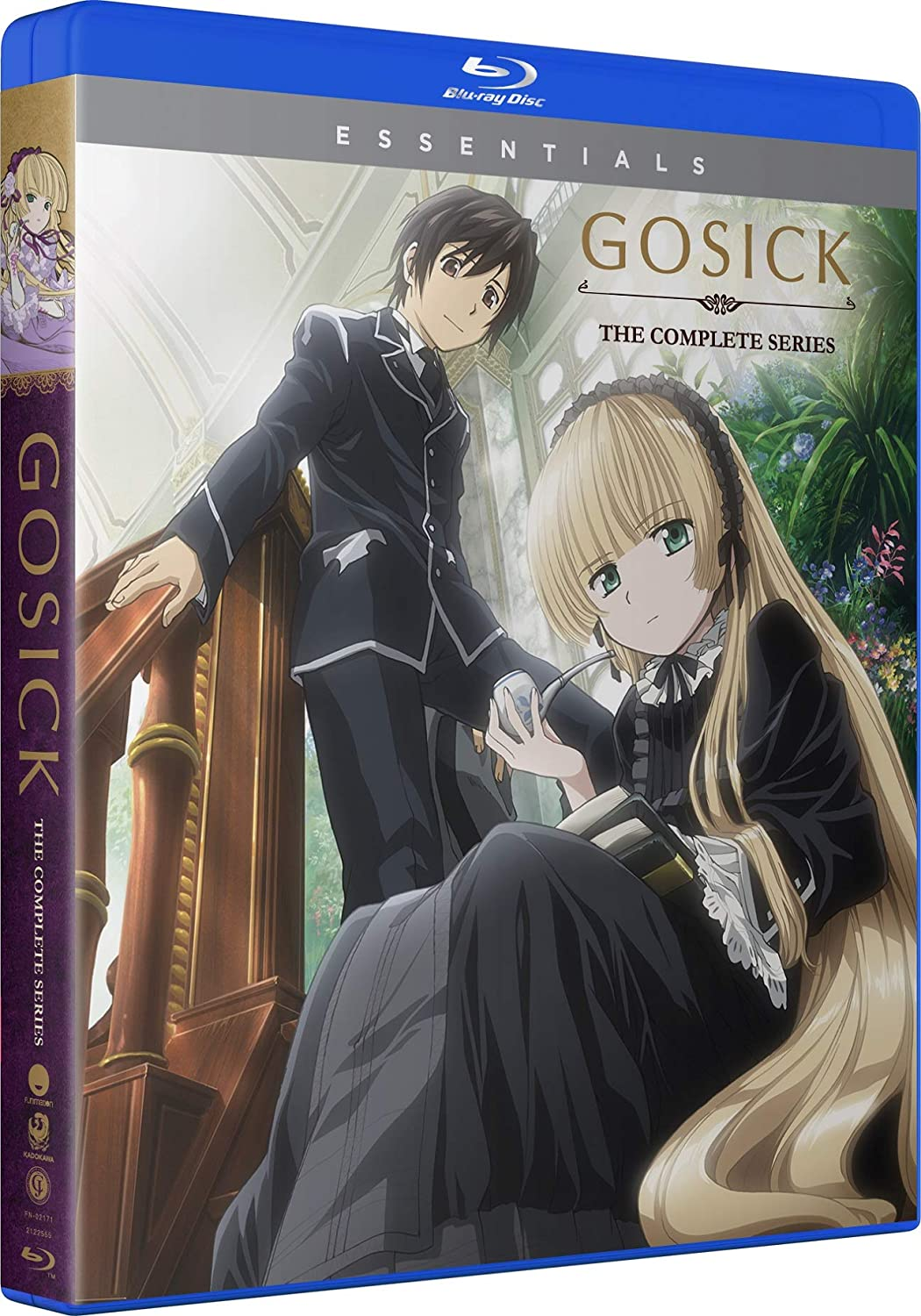 Gosick Complete Series Essentials Blu-ray (Dual Audio)