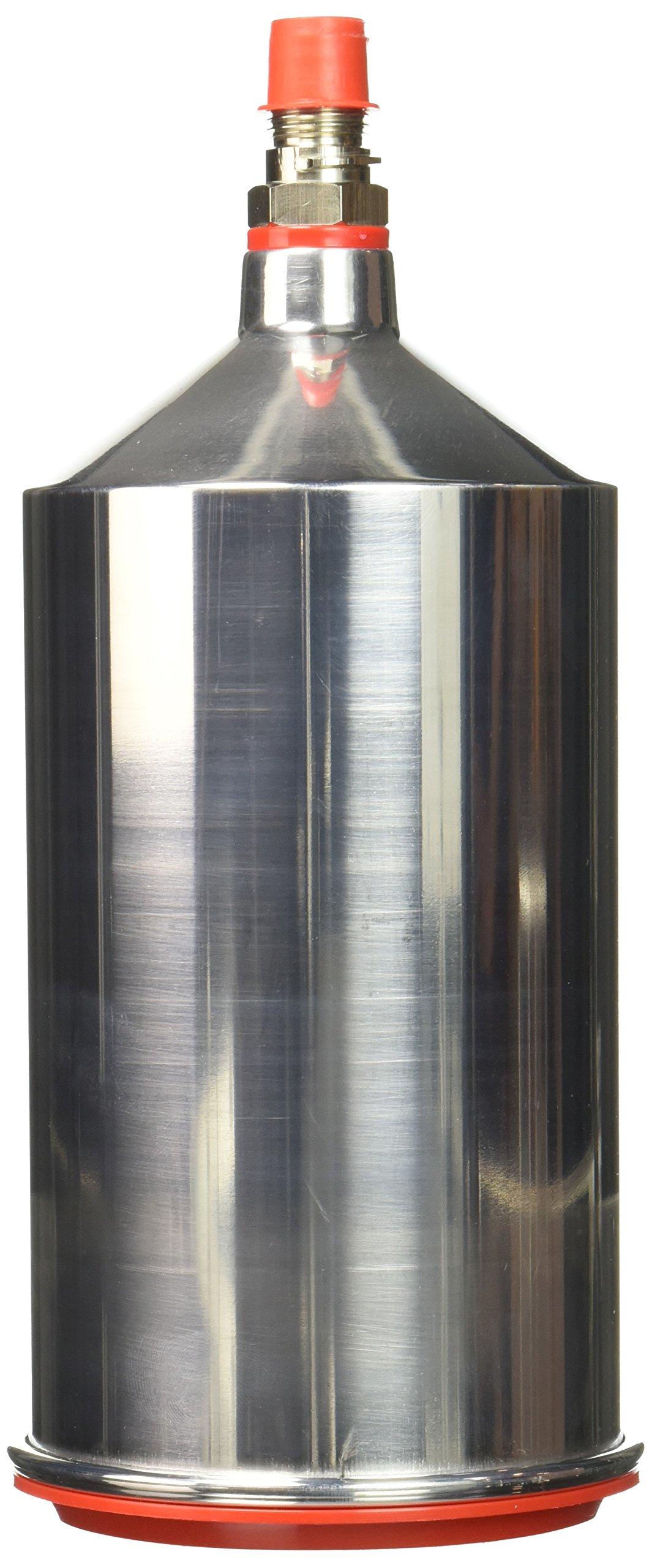 Sata SAT96685 Silver Gravity Flow Cup (1L Aluminum) by Sata (Image #1)