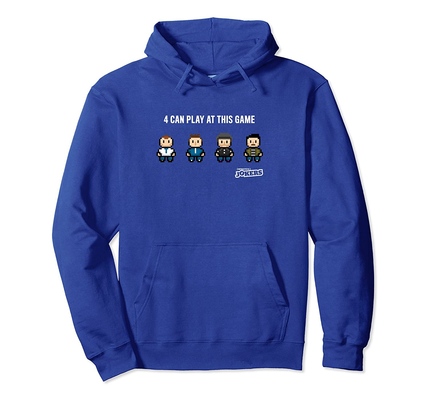 4 Can Play at This Game Hooded Sweatshirt-ah my shirt one gift