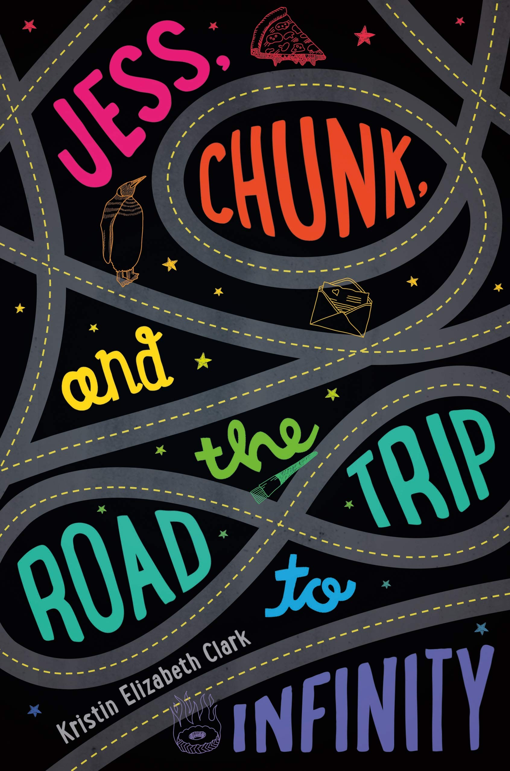 Jess, Chunk, and the Road Trip to Infinity: Clark, Kristin Elizabeth:  9780374380069: Amazon.com: Books