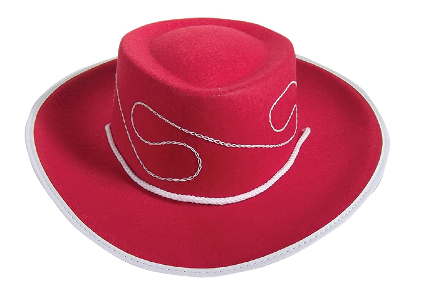 Large Jacobson Hat Company Jacobson Hat Company Childs Embroidered Permafelt Cowboy Costume Red toys F10183 REDL