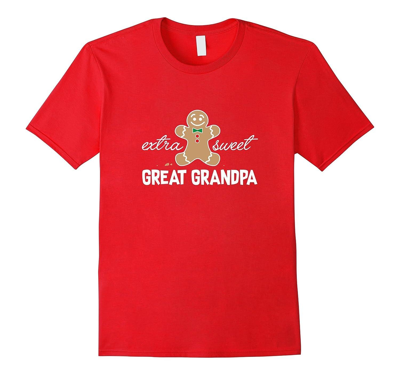 Extra Sweet Great Grandpa T-Shirt_Cute Christmas Gingerbread-FL