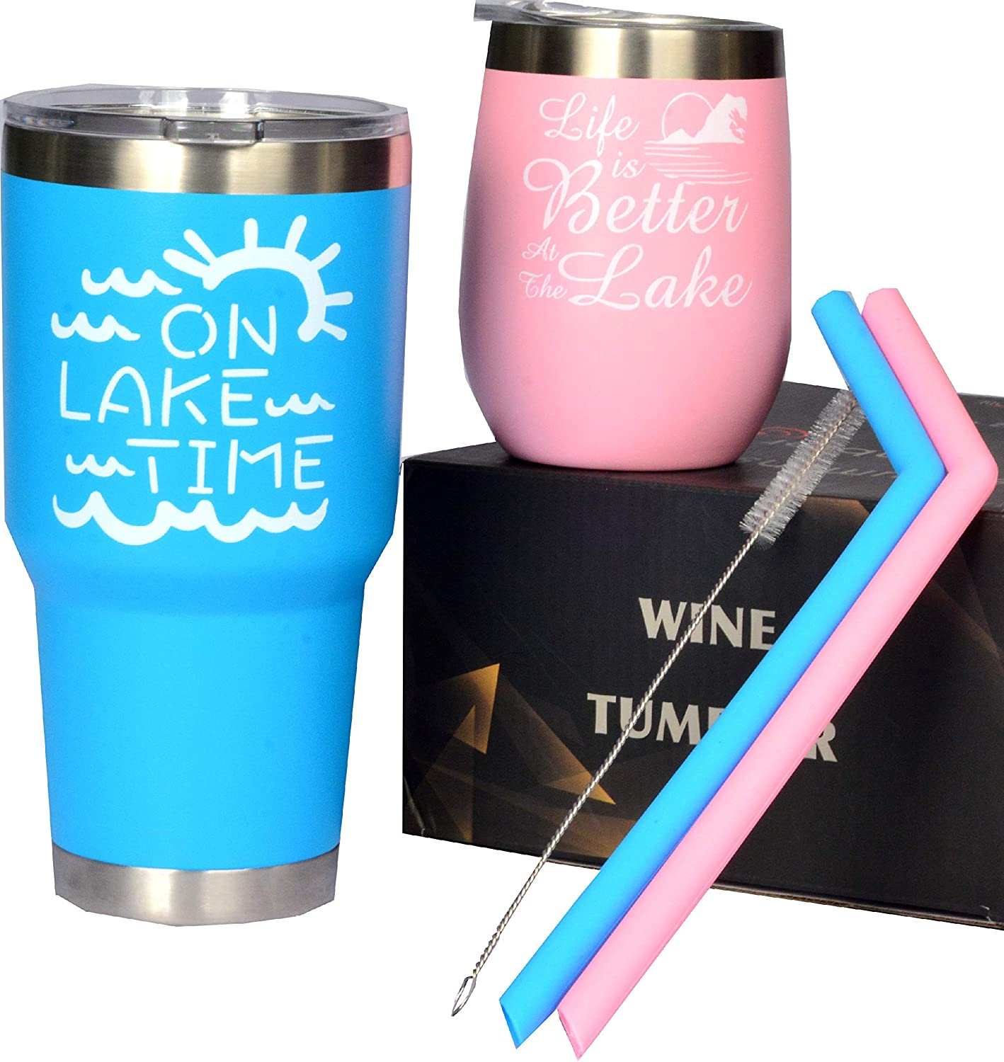 Lake Gifts, Lake Tumblers, Life is better at the Lake, On Lake Time Tumbler Cup, Lake Life Accessories Gifts, Lake Gifts, Gifts for Lake Lovers, Gifts for Boat Owner, Lake Life, Lake Life Gifts