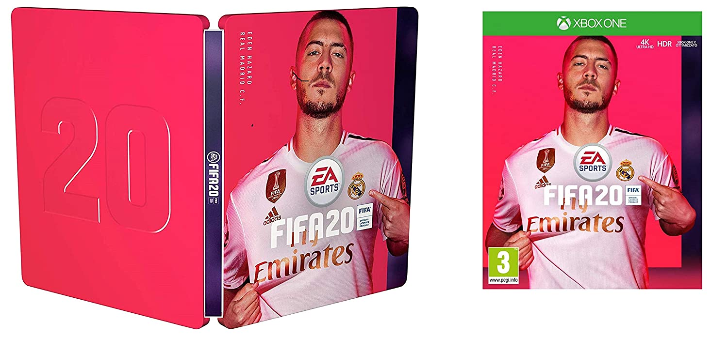 Pack Fifa 20 Xbox One + Steelbook