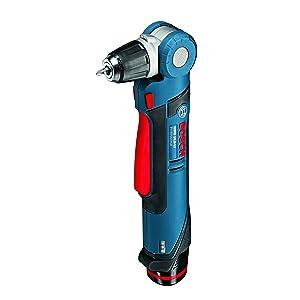 Bosch GWB 12V-10 Professional - Taladro (batería de 12 V, 0 - 1300 rpm, 1.2 kg), negro y azul