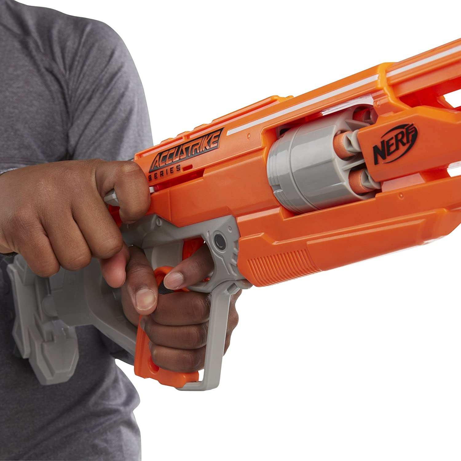 NERF N-Strike Elite Accustrike Series Alphahawk ONLY $14.16 (Reg. $30)  SHIPPED!! – Coupons & Promo Codes