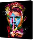 David Bowie 11 - Modern Art - Wall Picture - Canvas Print