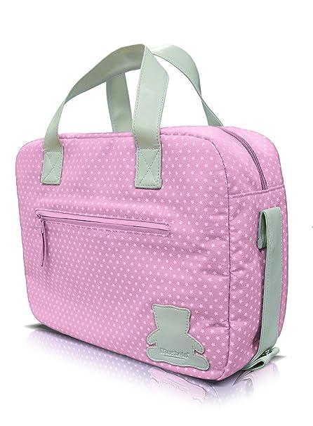 Mustela - Bolsa primeros productos Bebe, Color Rosa