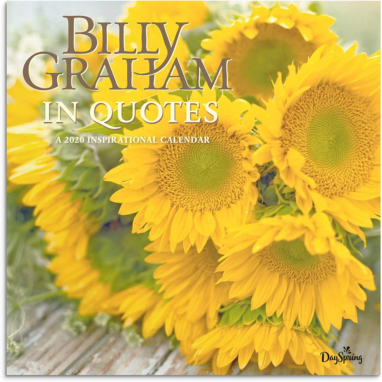 Billy Graham 2020 Christmas Schedule Amazon.: DaySpring Billy Graham In Quotes   2020 Wall Calendar