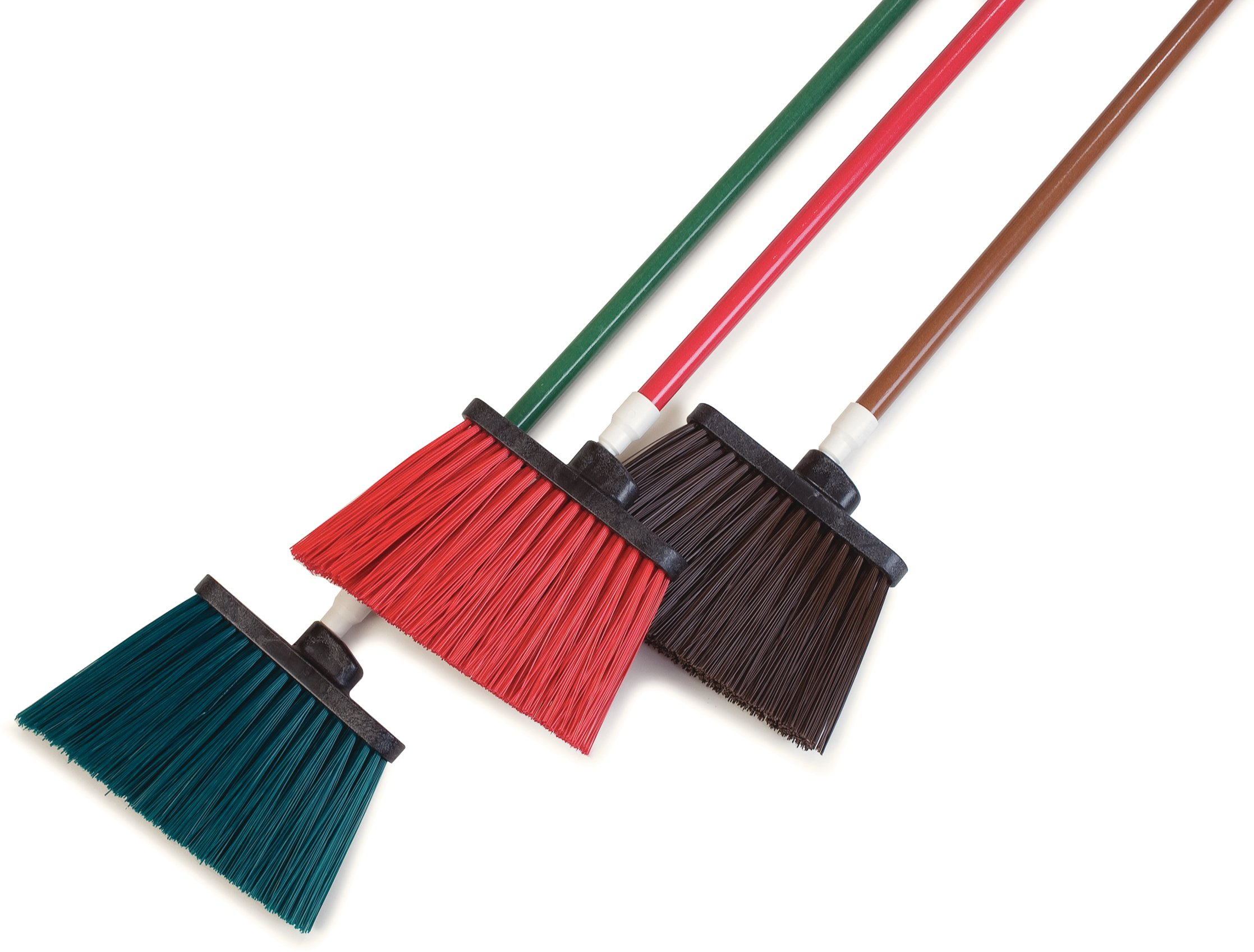 Carlisle 4108305 Sparta Duo-Sweep Unflagged Angle Broom with Fiberglass Handle, 54'' Length, Red (Pack of 12) by Carlisle (Image #9)