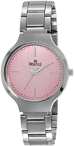 5506253914e Buy Swisstyle Analogue Pink Dial Womens Watch-Ss-Lr823-Pnk-Ch Online at Low  Prices in India - Amazon.in