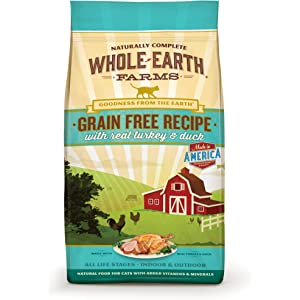 Whole Earth Farms Grain Free Recipe Dry for Cat