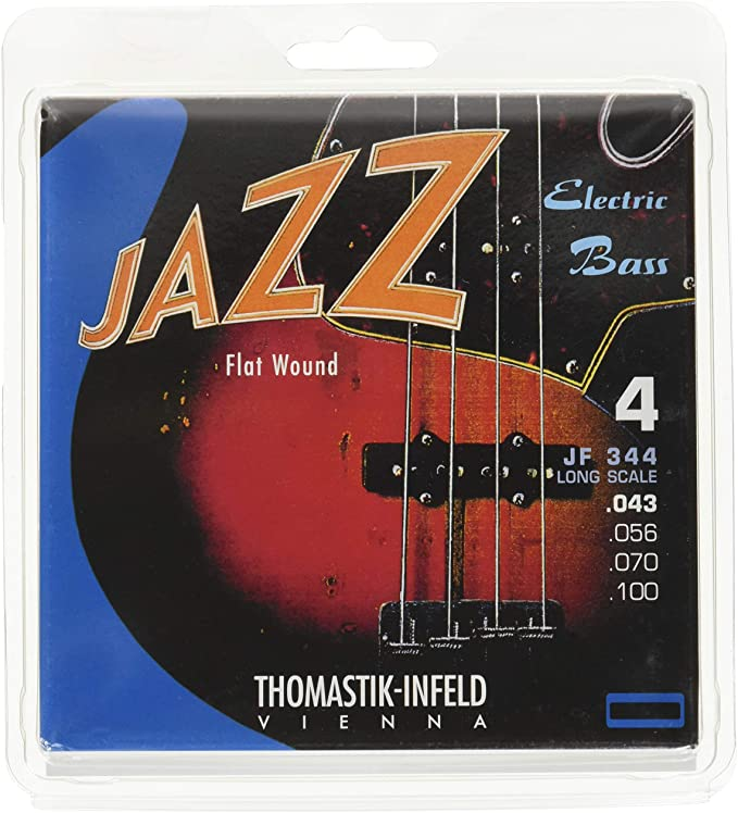 Thomastik Cuerdas para Bajo Eléctrico Jazz Bass Serie niquel ...