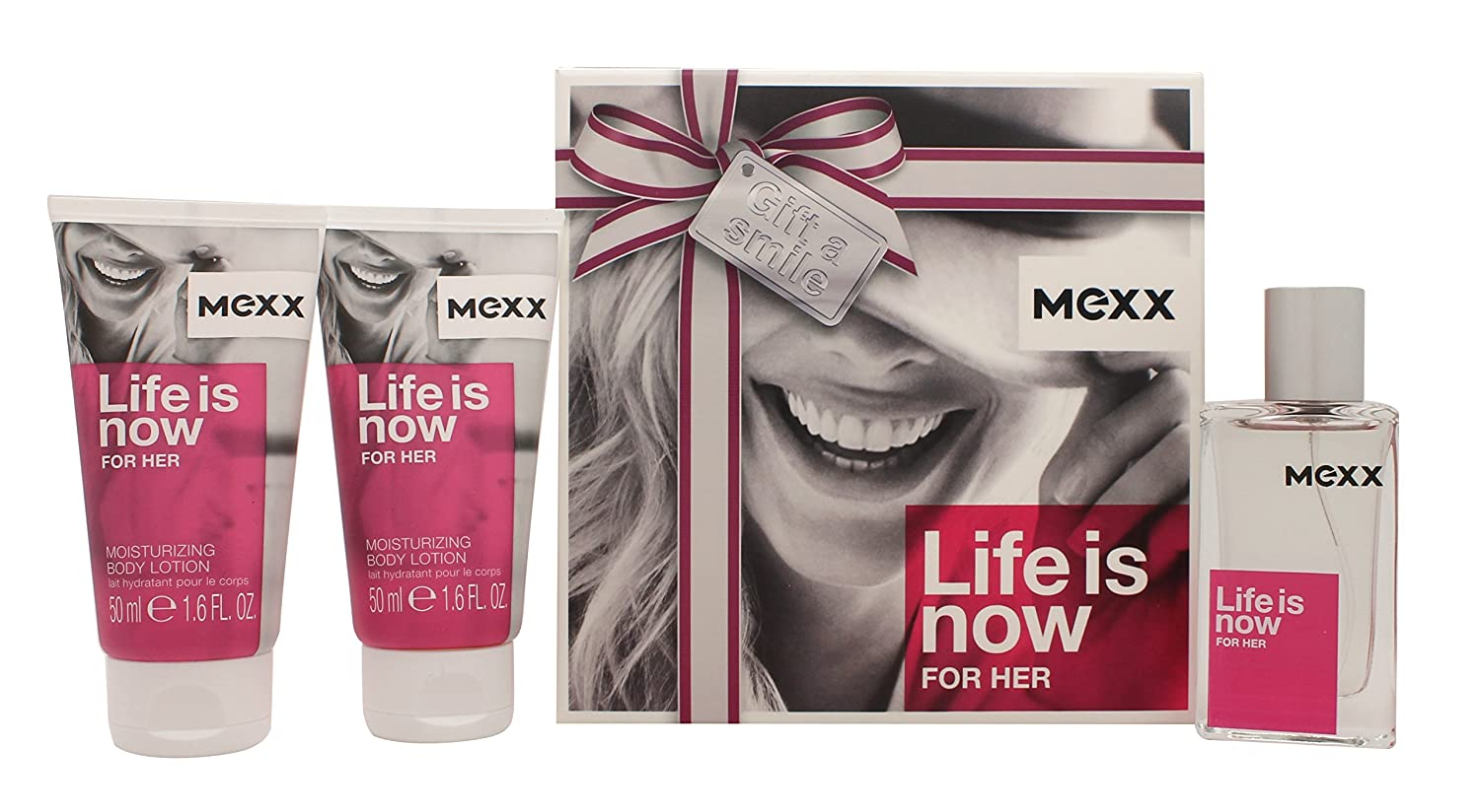 Mexx Life is Now for Her EDT 30 ml + SG 2 x 50 ml (woman)