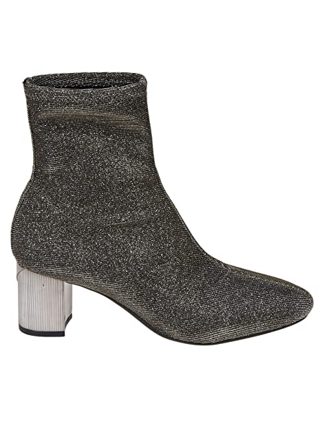 Michael By Michael Kors Mujer 40F8pame7d068 Plata Poliéster Botines: Amazon.es: Zapatos y complementos