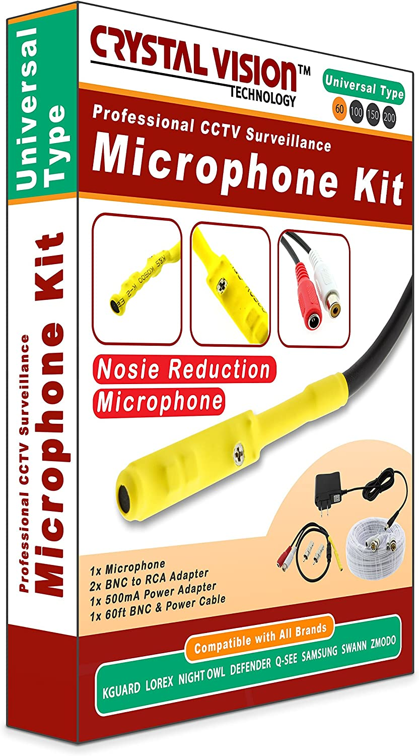 150ft Microphone Kit for Swann Surveillance Security System