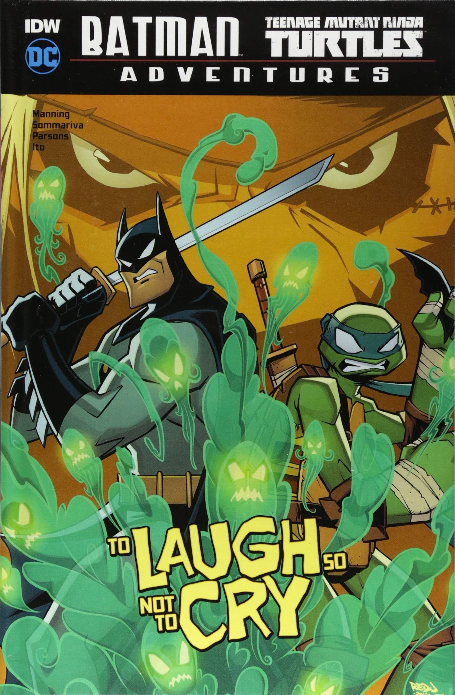 Amazon.com: To Laugh So Not to Cry (Batman / Teenage Mutant ...