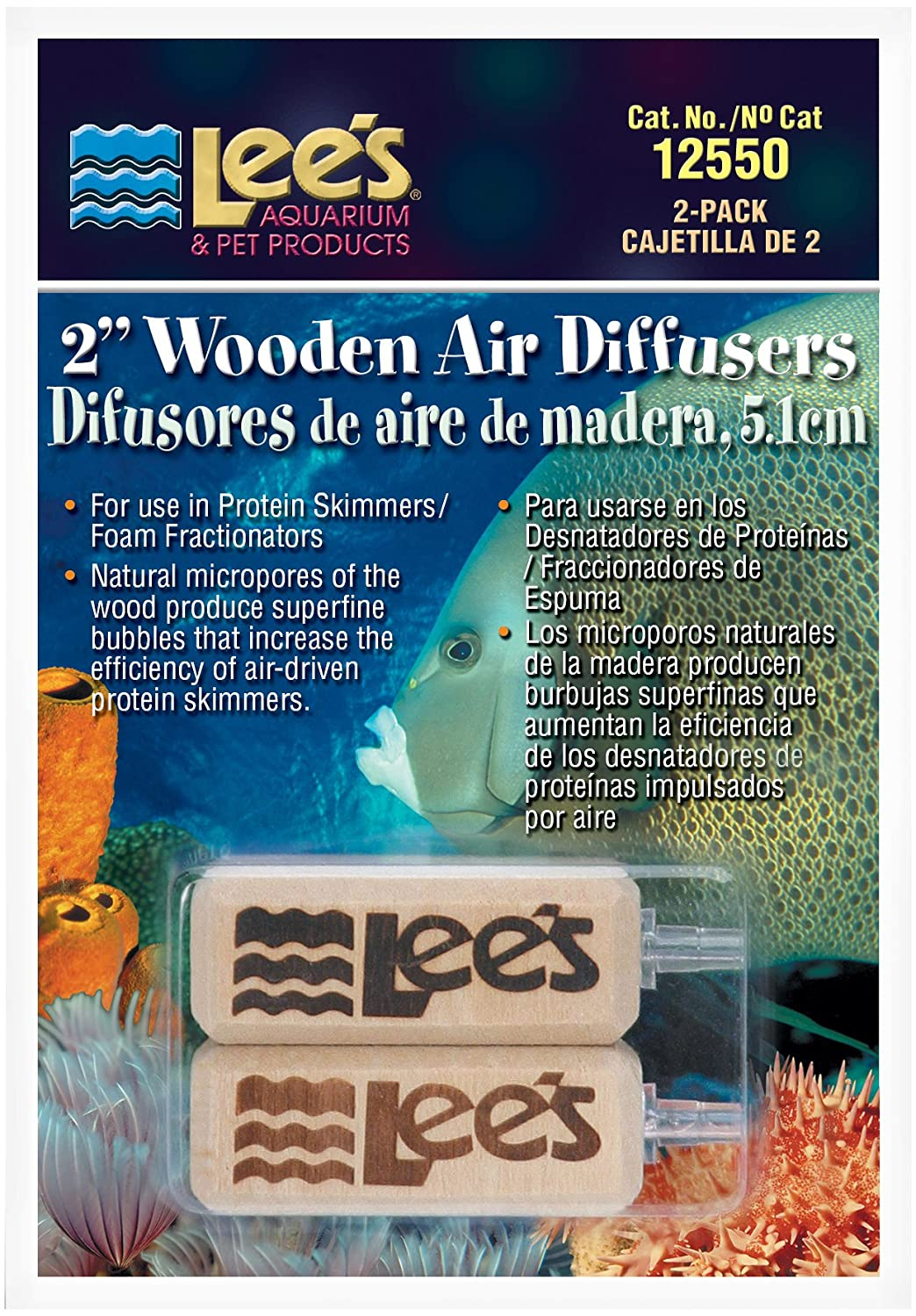 Amazon.com : Lee\'s 2-Inch Wooden Air Diffuser, 2-Pack : Aroma ...