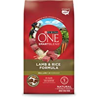 Purina One Smartblend Natural Formula Adult Dry Dog Food Lamb & Rice