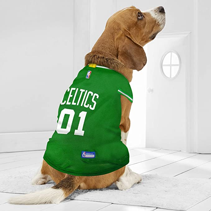 df31fd76b Amazon.com   NBA BOSTON CELTICS DOG Jersey