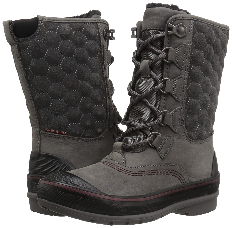CLARKS B01N5ES52G Women's Muckers Lace Snow Boot B01N5ES52G CLARKS 6 B(M) US|Grey Nubuck c801fe