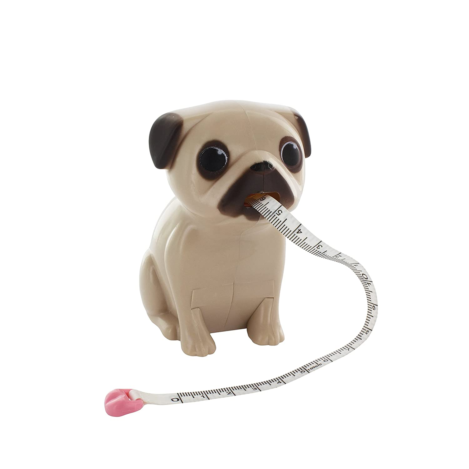 Pug dog tape measure